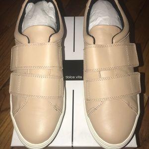 Dolce Vita- Tina Leather Sneaker (Blush) Size 9.5
